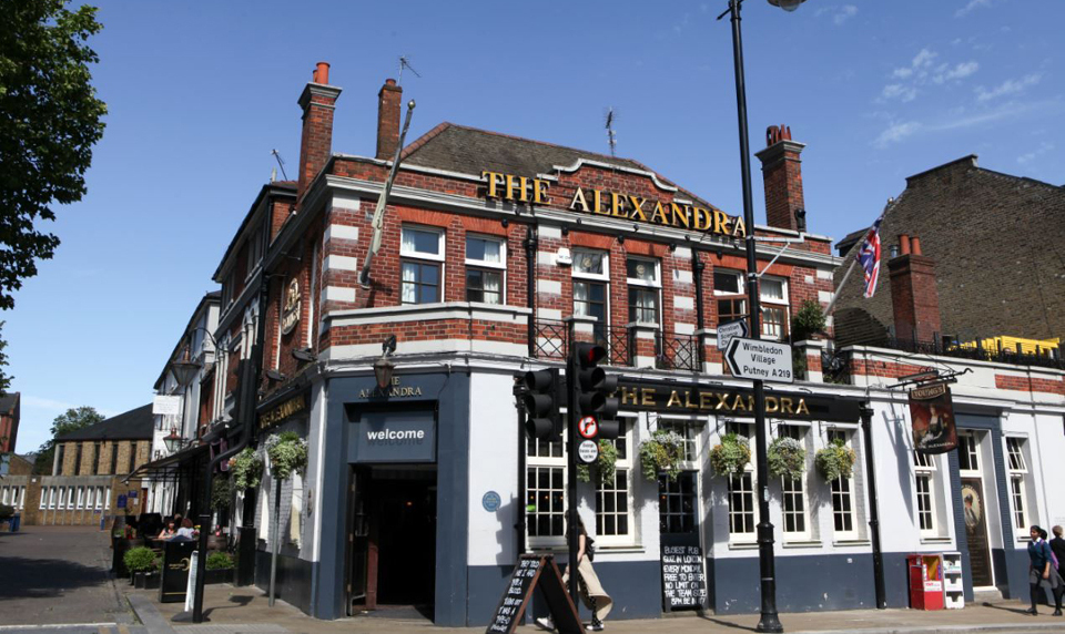 The Alexandra Pub in Wimbledon